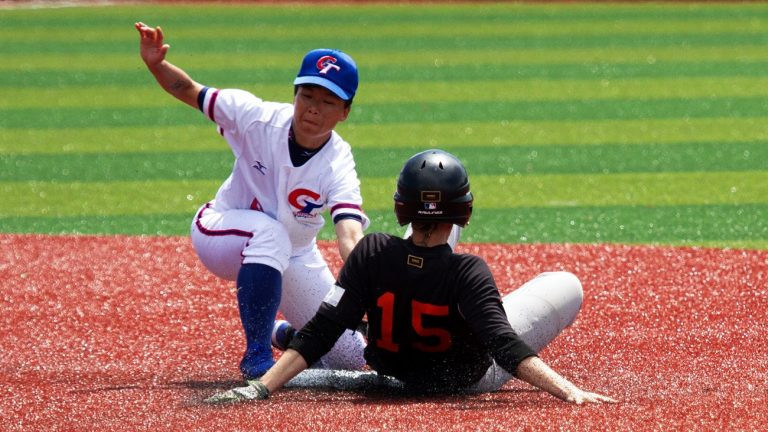 Chinese Taipei saw off The Netherlands to top the group and will now face the Dominican Republic in the super round ©WBSC
