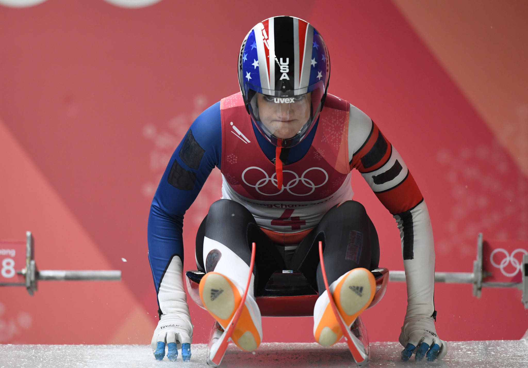 US Olympians dominate luge start event in Meransen