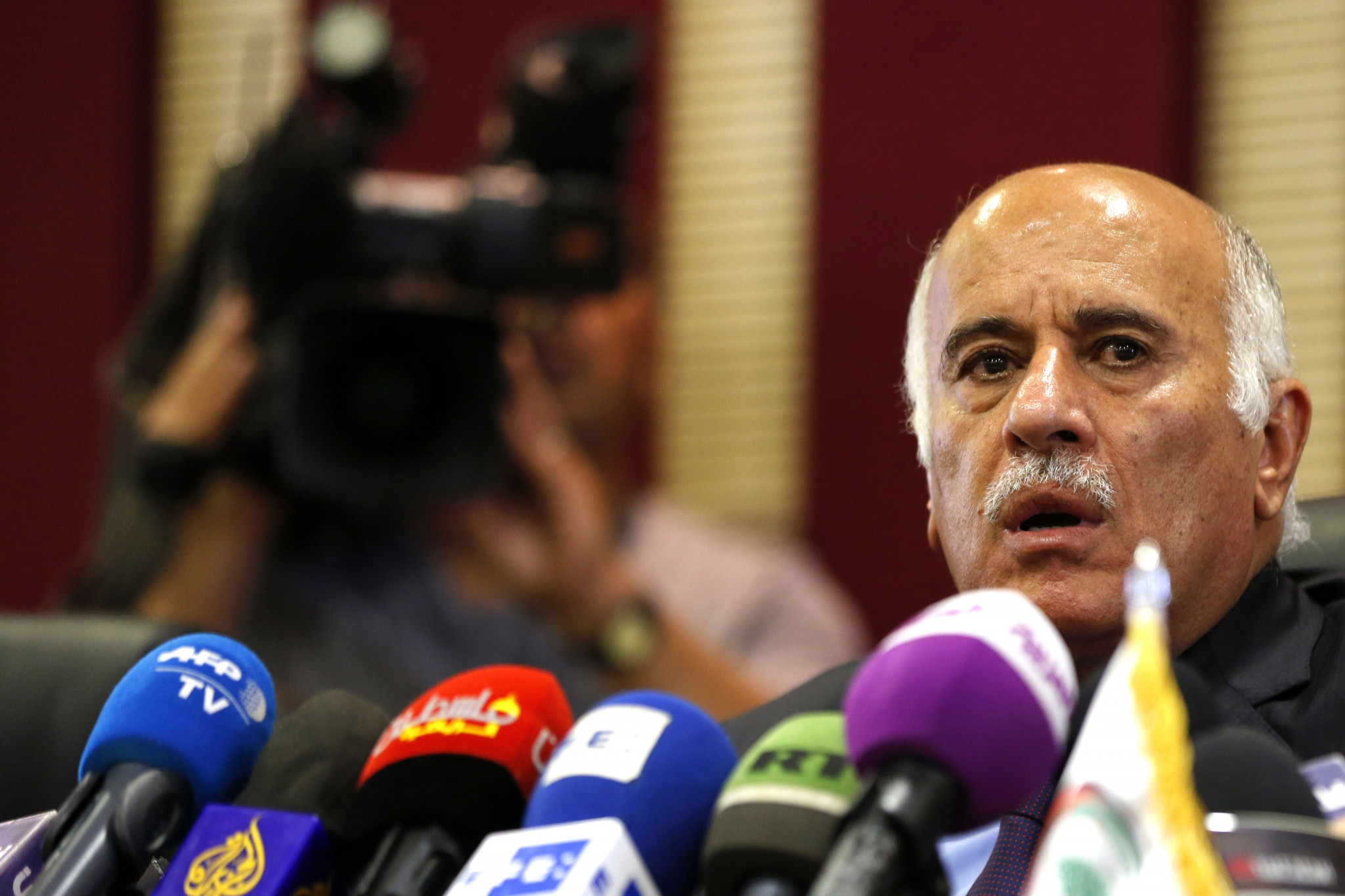 Jibril Rajoub will appeal his ban ©Getty Images