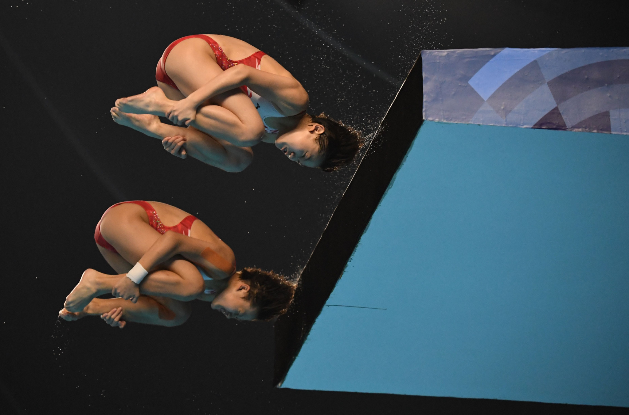 China lay down early marker with double gold on opening day of diving action at 2018 Asian Games