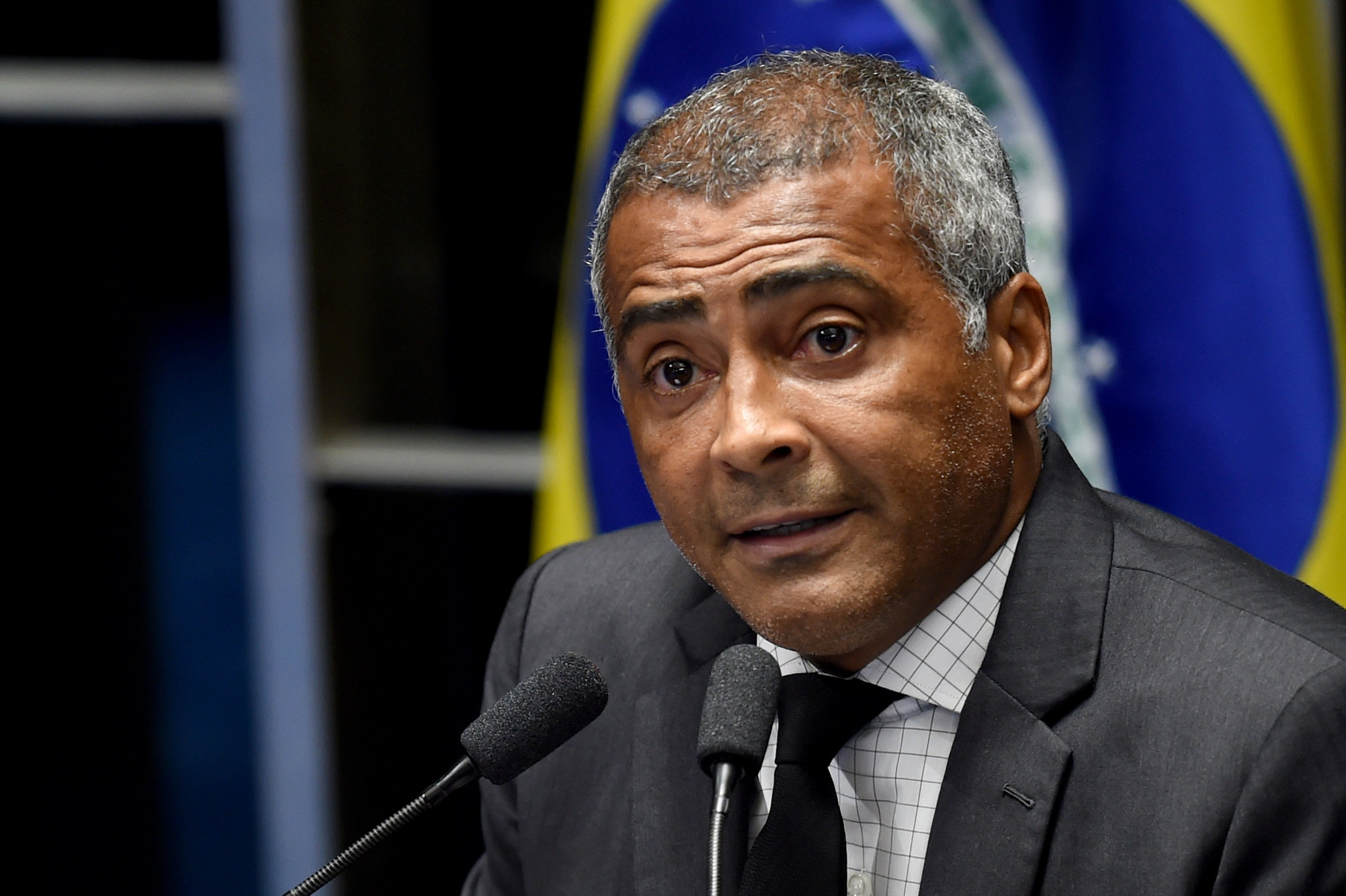 Footballer turned politician Romario is considered the narrow favourite in the polls ©Getty Images