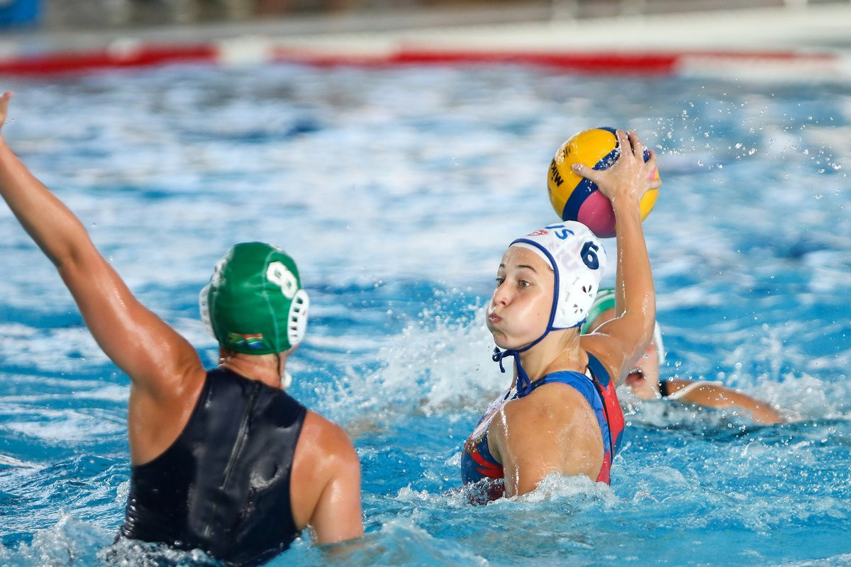 Russia continue strong start to World Women's Youth Water Polo Championships