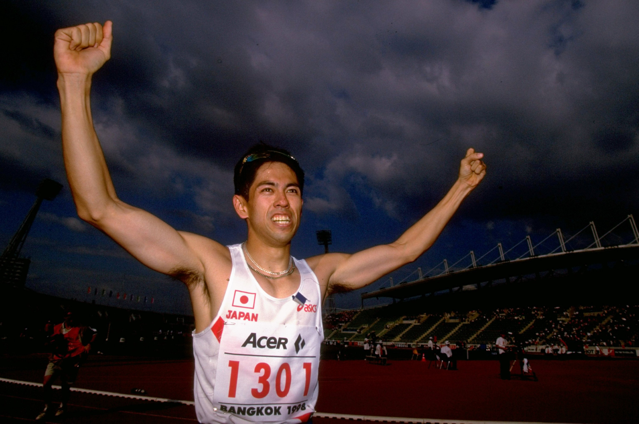 Japanese sprinter Koji Ito won the first award in 1998 ©Getty Images