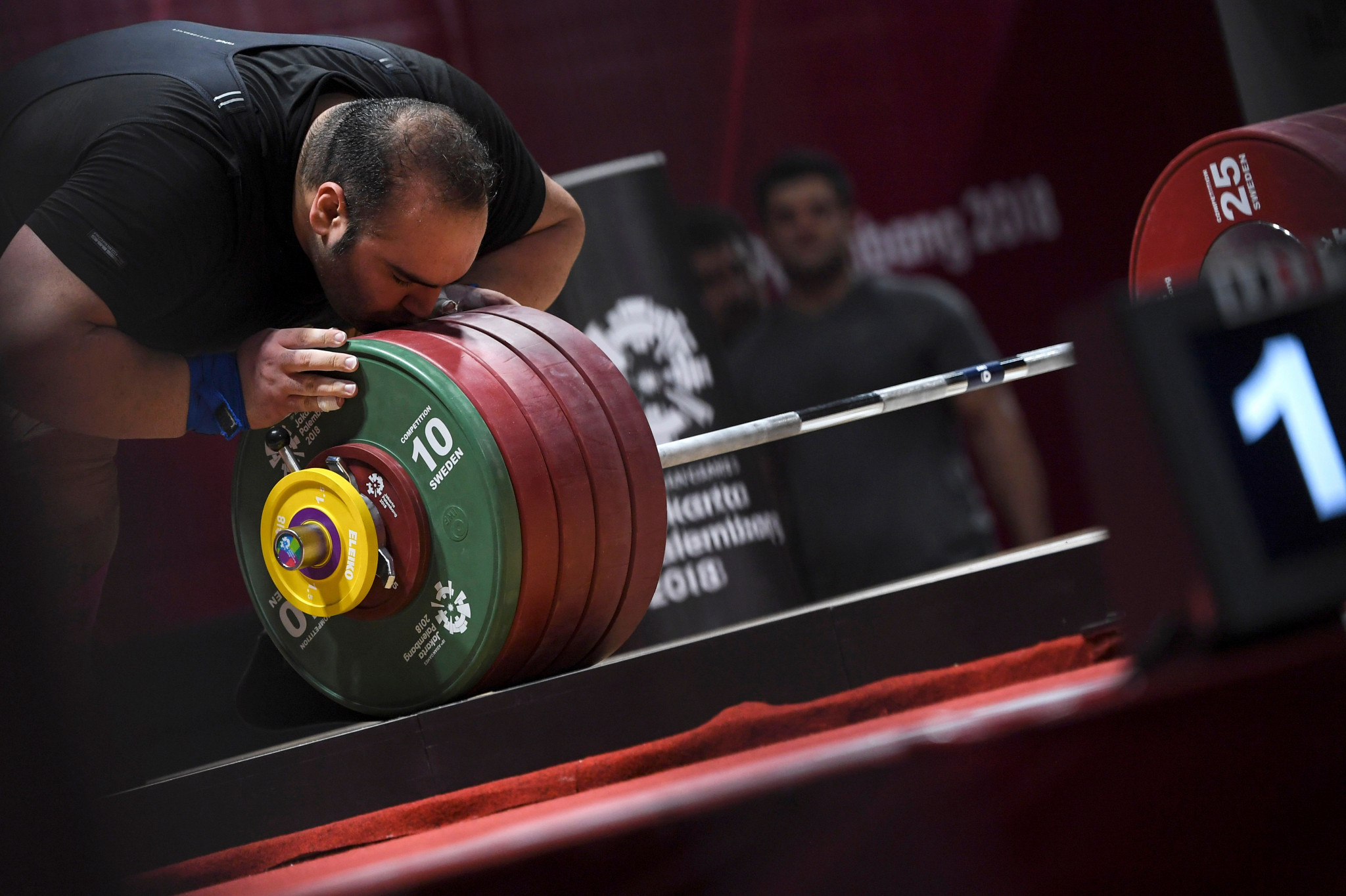 Iranian weightlifter Behdad Salimikordasiabi has announced his retirement ©Getty Images