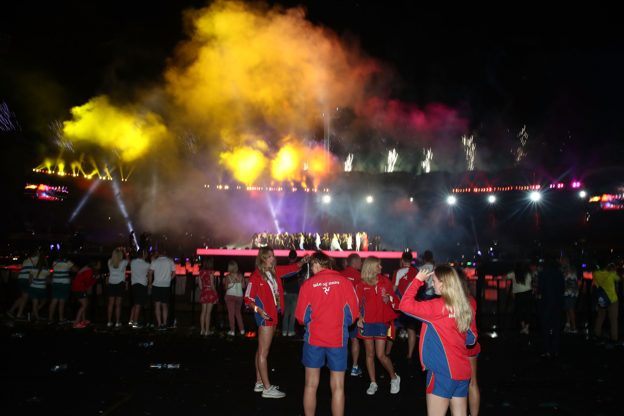 The athletes did not feature in the Gold Coast Closing Ceremony broadcast which left both athletes and fans disappointed ©Getty Images