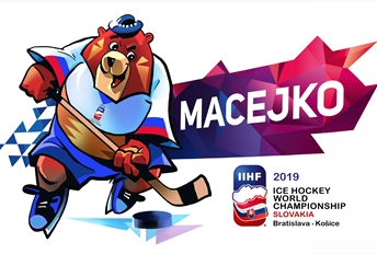 Macejko selected as bear mascot name for 2019 IIHF World Championships