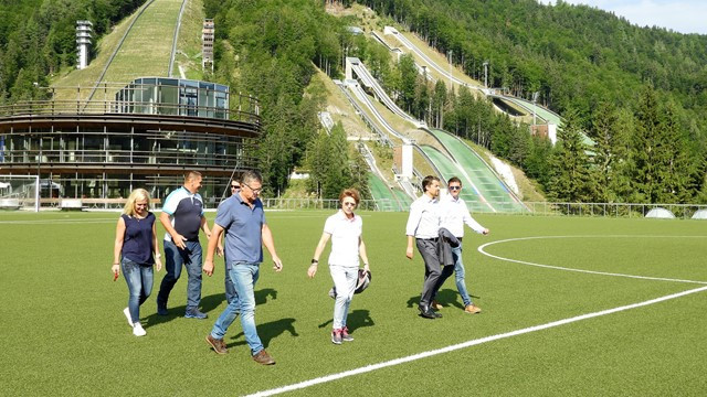 FIS make preliminary visit to 2023 Nordic World Championships host Planica