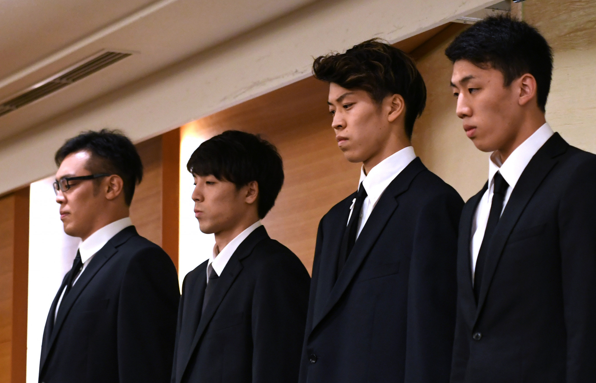 Four members of the Japanese men's basketball team that were kicked out of the squad and sent home from the Asian Games here after they allegedly paid for sex have been handed 12-month suspensions ©Getty Images