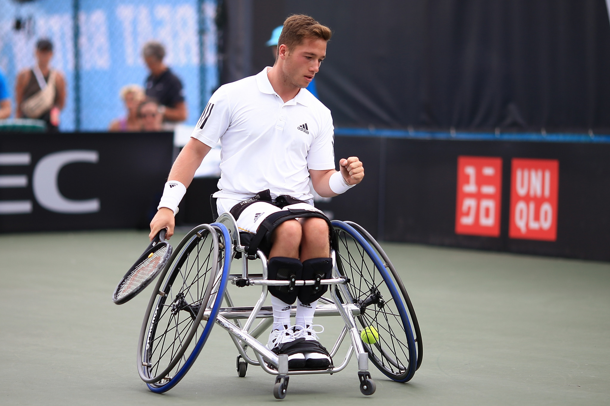 Alfie Hewett was another player to go through in St Louis ©Getty Images
