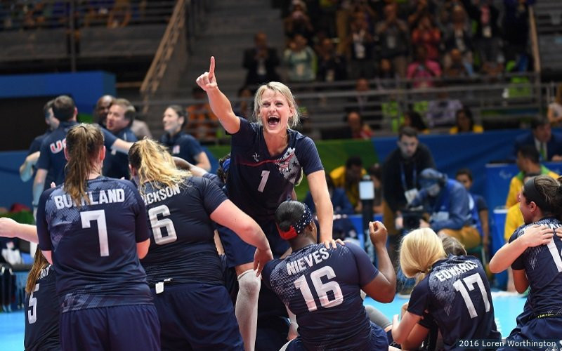 Sitting volleyball is looking forward to the Tokyo 2020 Paralympics ©World ParaVolley/Twitter