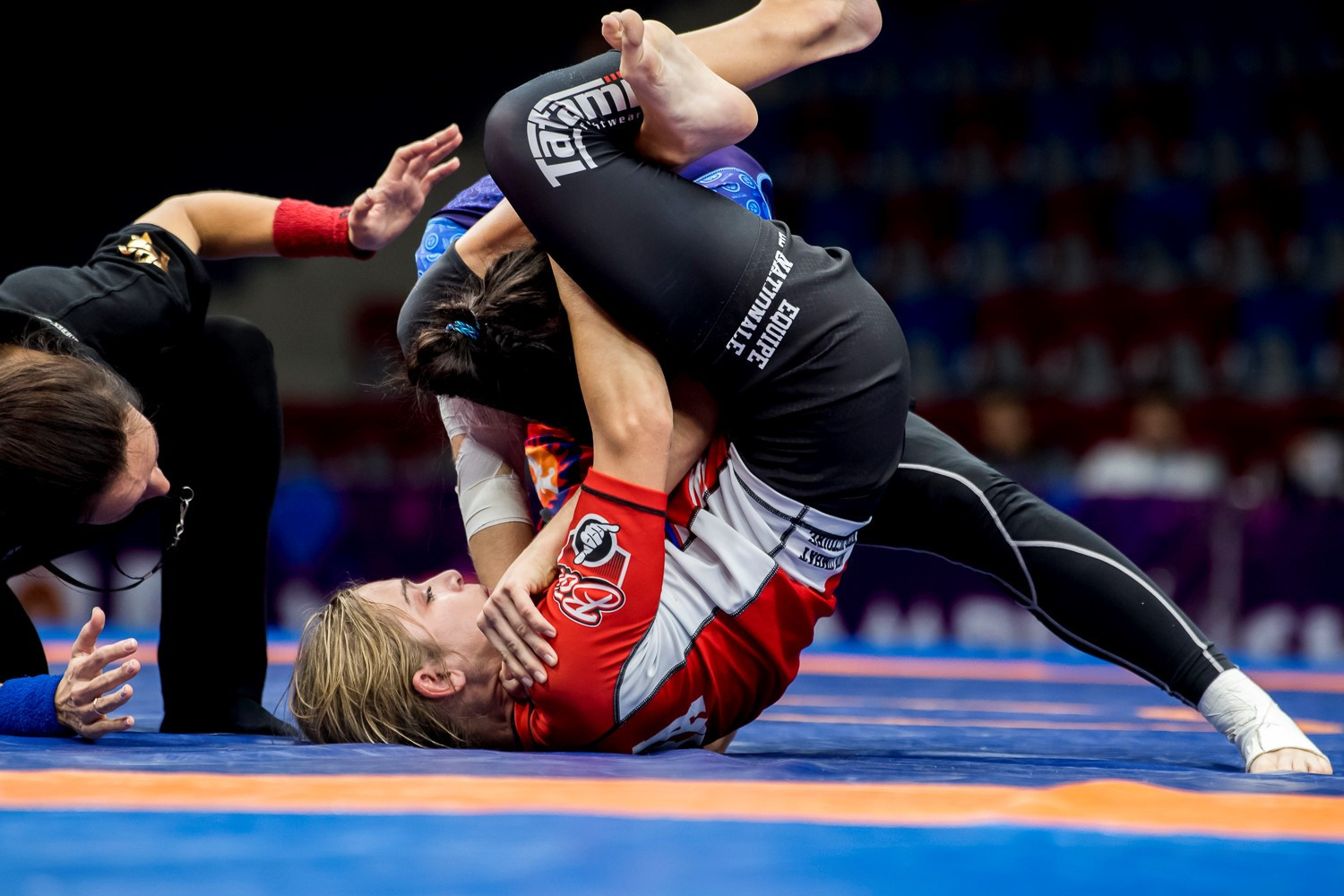 Grappling isn't an Olympic sport but is overseen by the UWW's Grappling Commission ©UWW