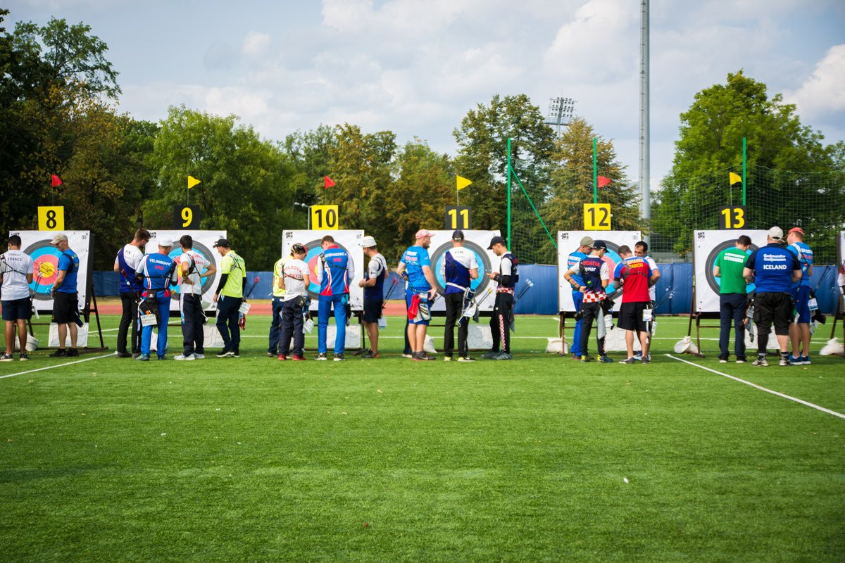 The event continued in Poland today ©World Archery