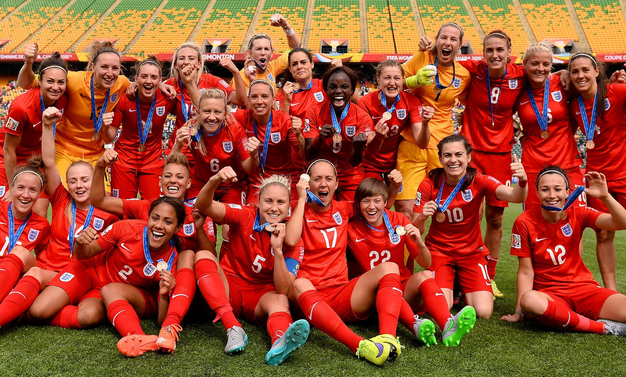 England has submitted a bid for the 2021 Women's European Championships ©Getty Images