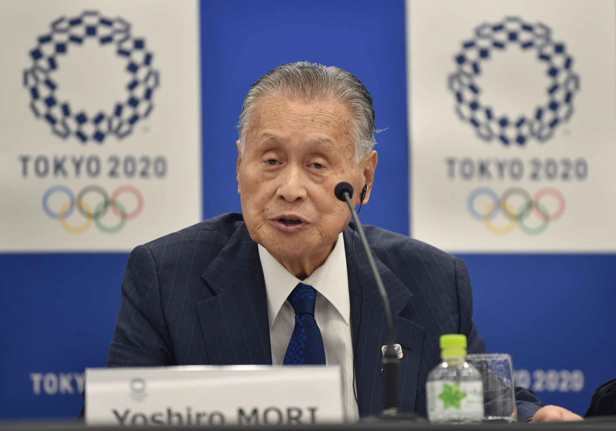 Tokyo 2020 President Yoshirō Mori welcomed the addition of KOKUYO ©Getty Images