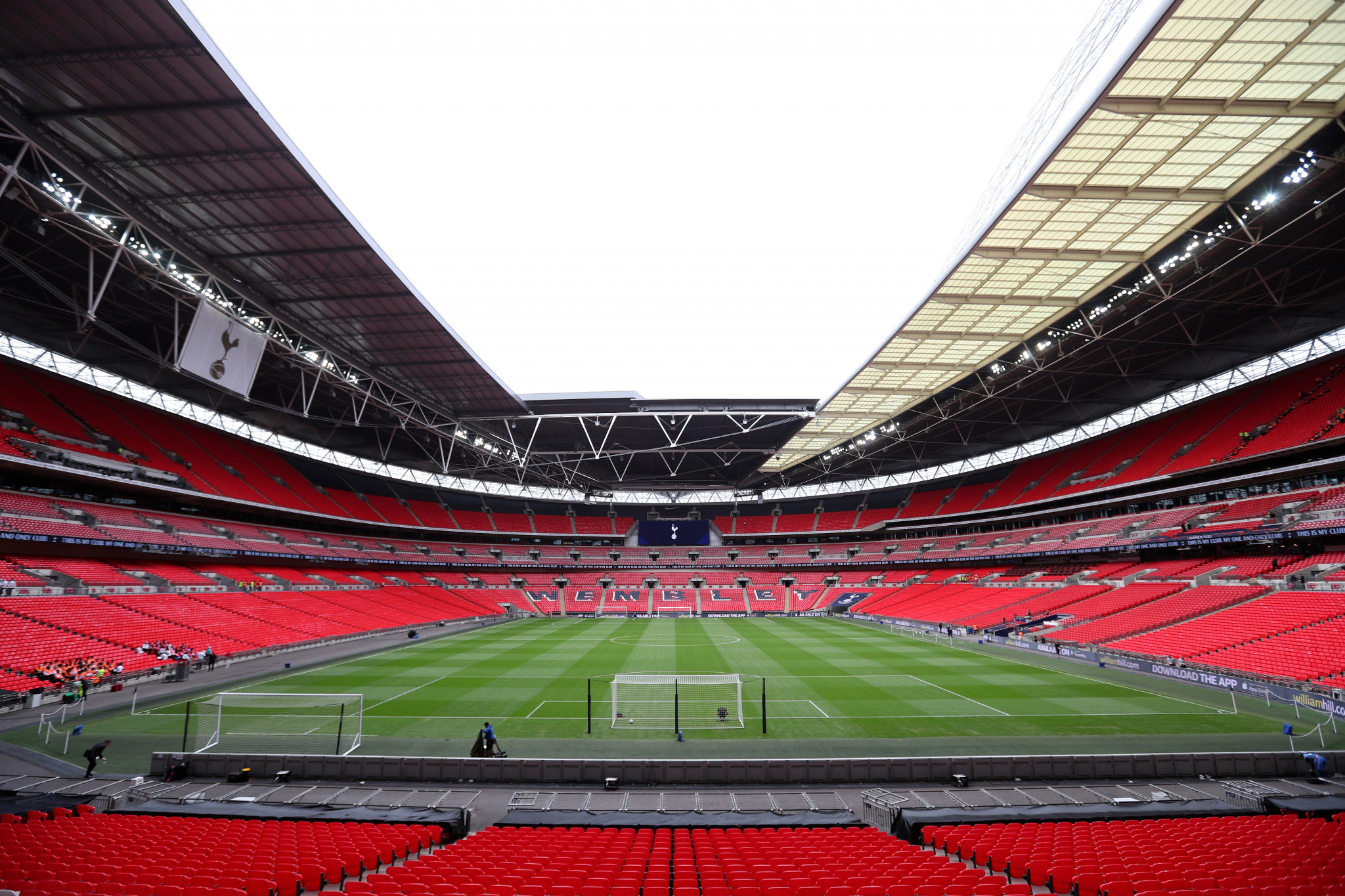 Wembley Stadium would host the final if England's bid for the tournament is successful ©Getty Images