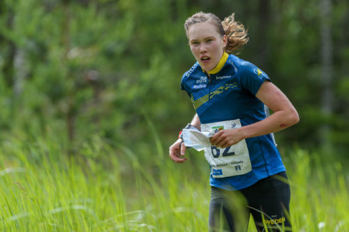 Sweden's Tove Alexandersson took victory in round one of the Orienteering World Cup ©Getty Images