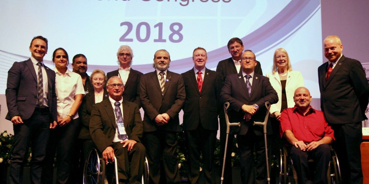 Mehrens re-elected International Wheelchair Basketball Federation President