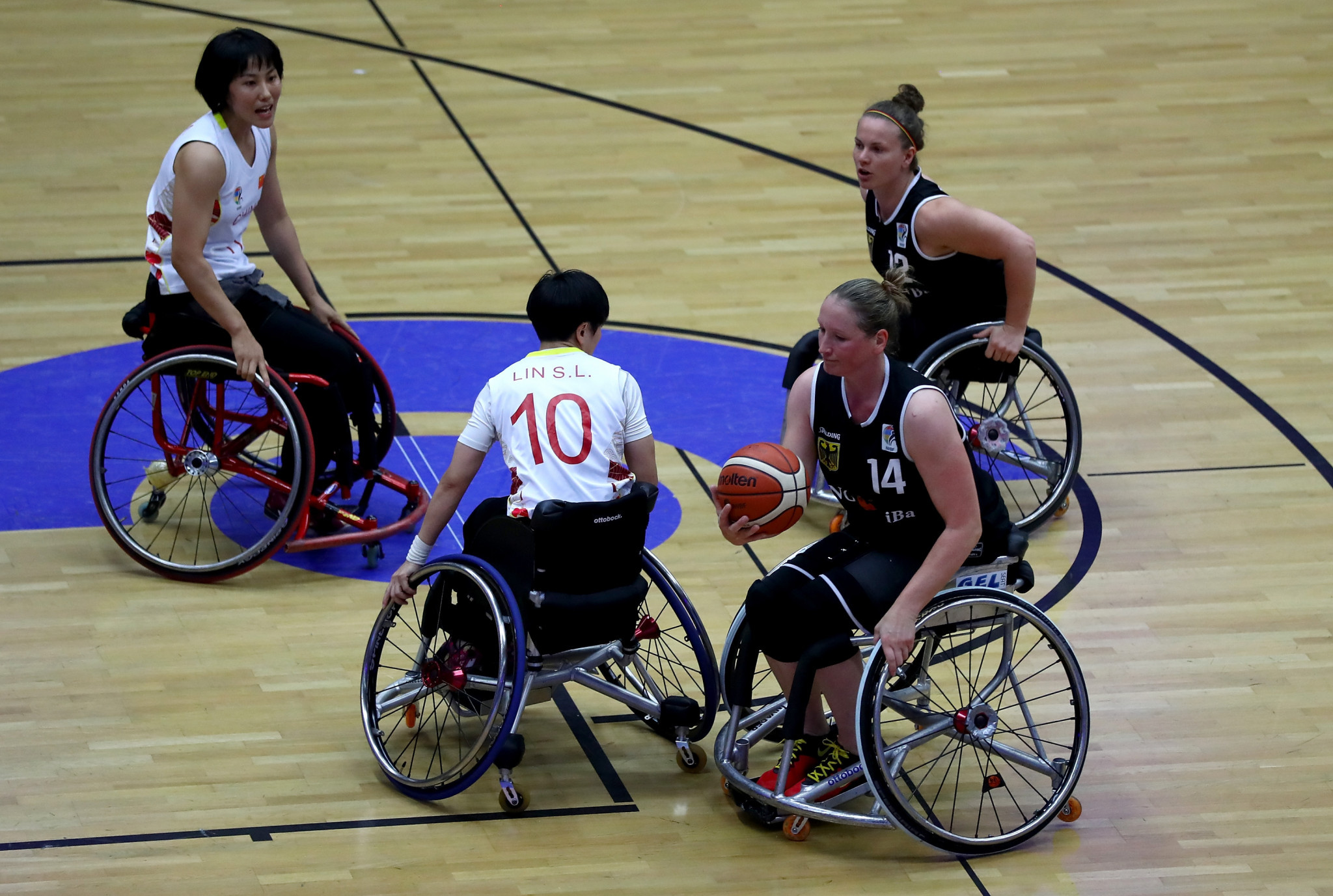 The Congress took place alongside the World Wheelchair Basketball Championships in Hamburg ©Getty Images