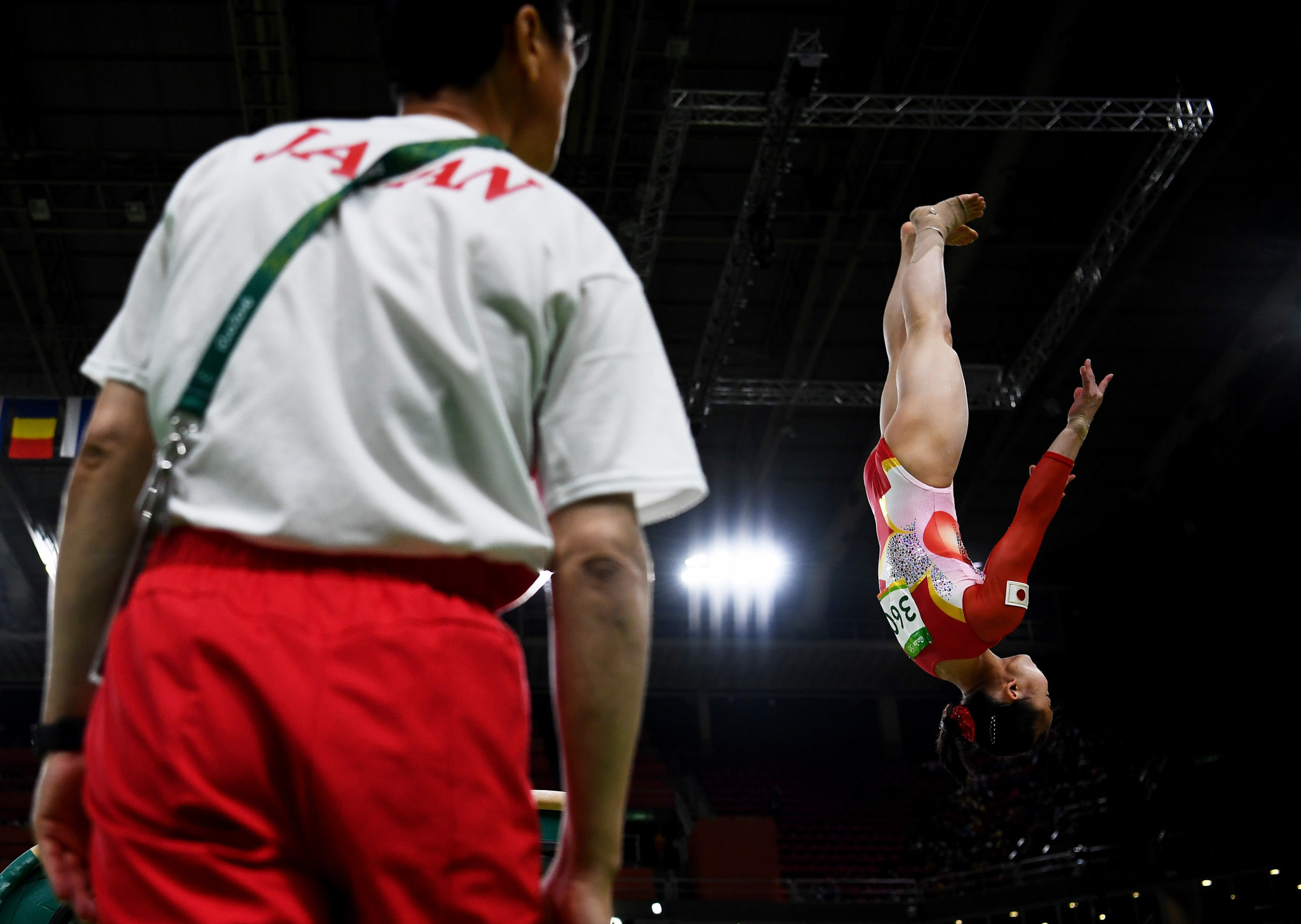 Japanese gymnast Miyakawa vows to stick by coach banned for violent behaviour towards her