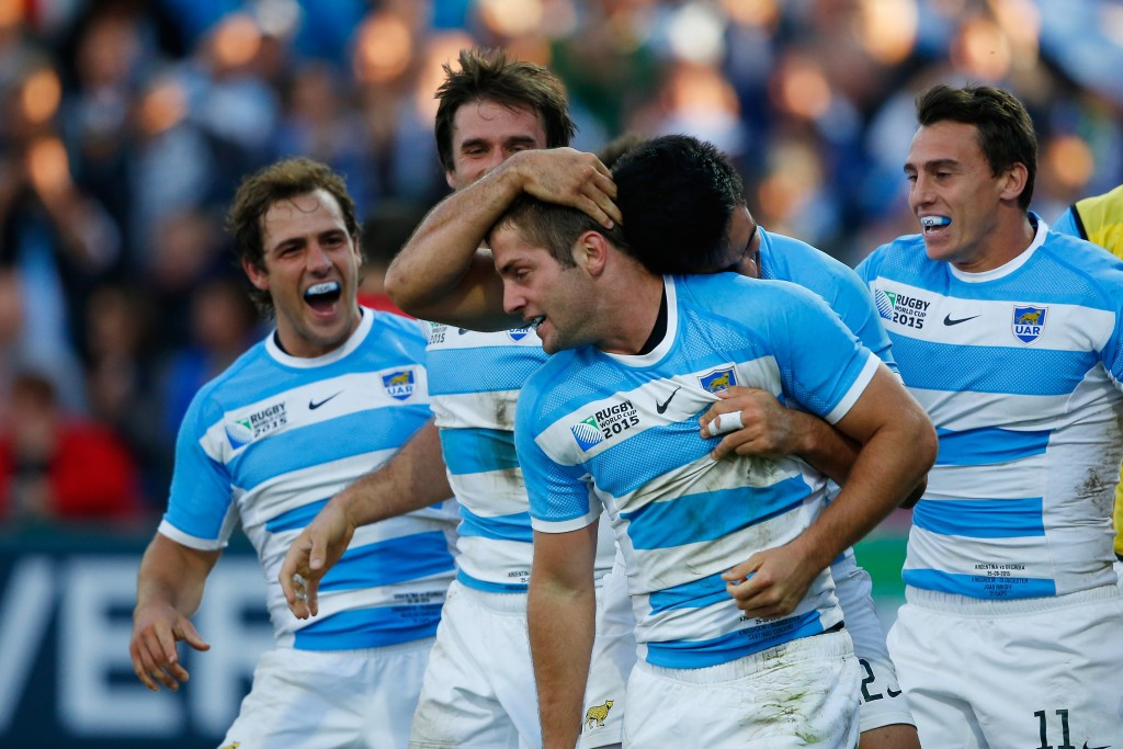Argentina brush aside Georgia at Rugby World Cup after ruthless second half display