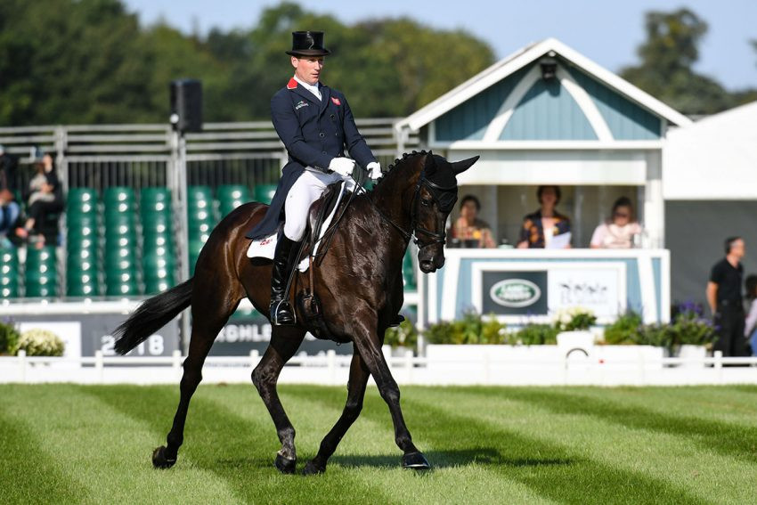 Townend leads after first day at Burghley Horse Trials