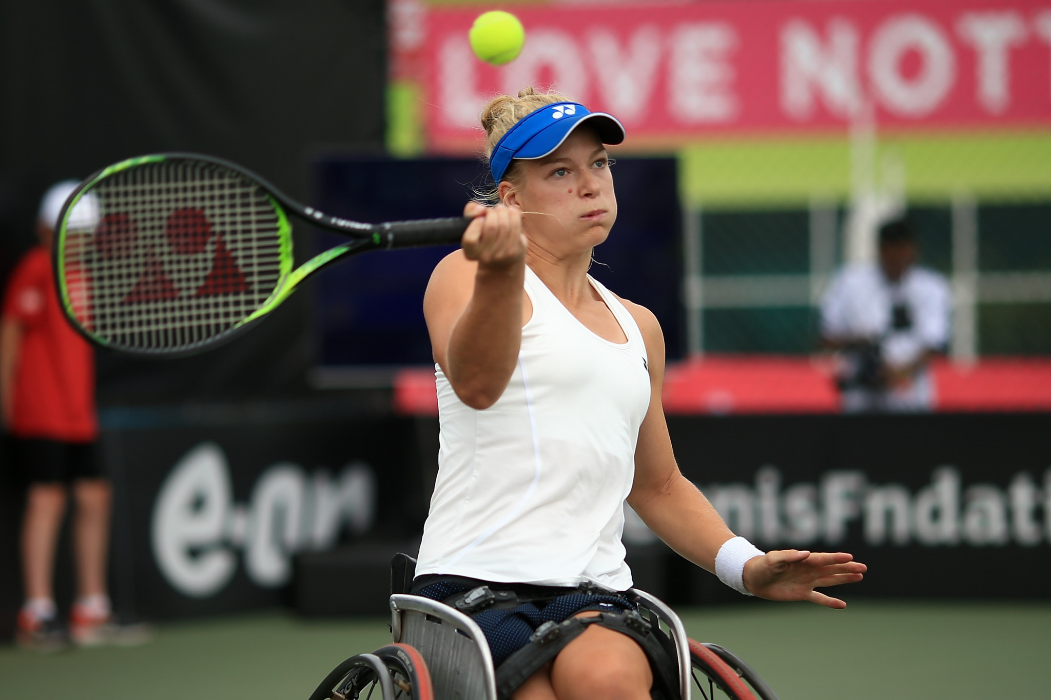 De Groot eases through at US Open Wheelchair Championships