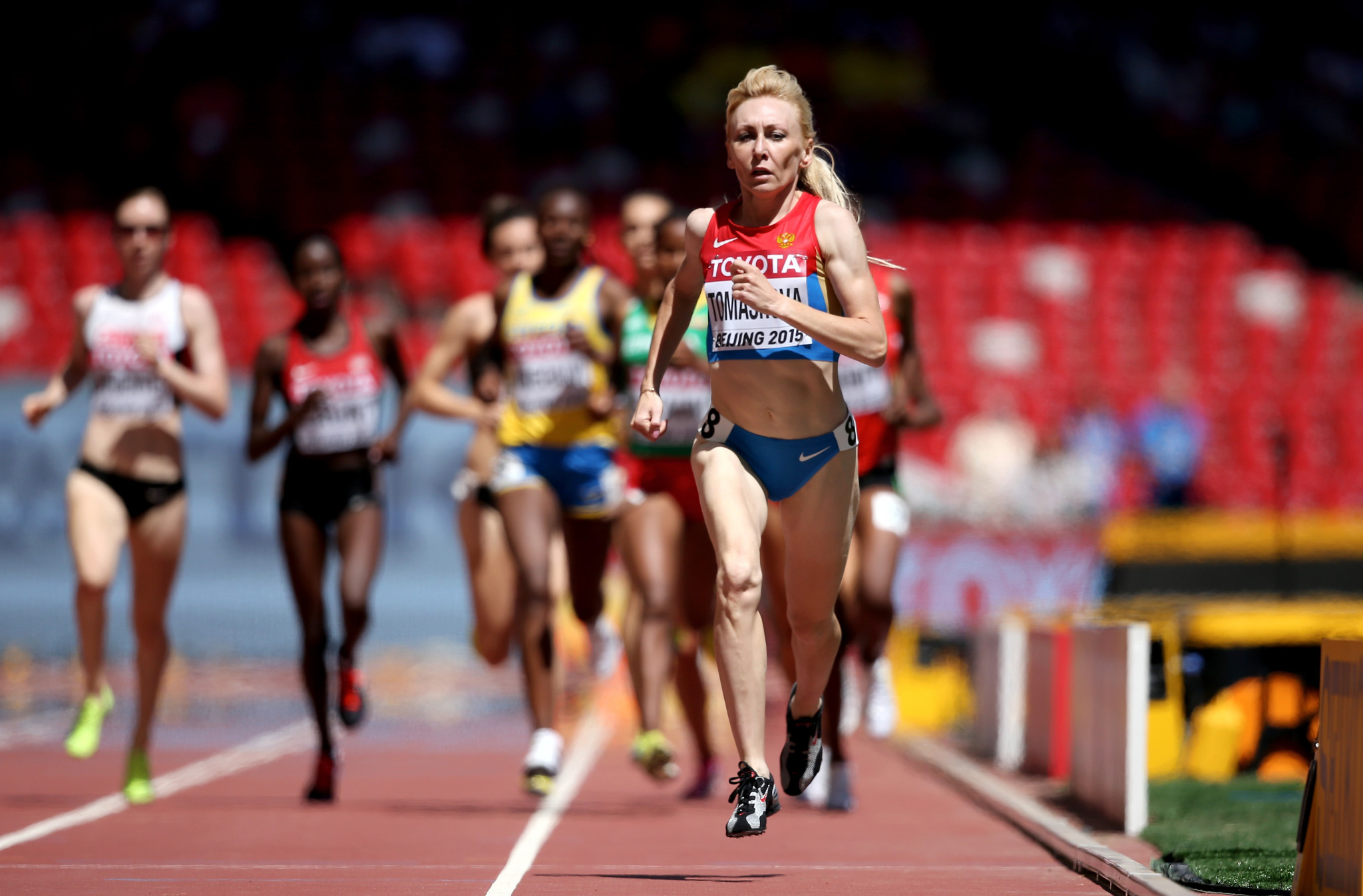 Tatyana Tomashova finished fourth in the 1,500m at London 2012 in a race considered among the dirtiest in history ©Getty Images