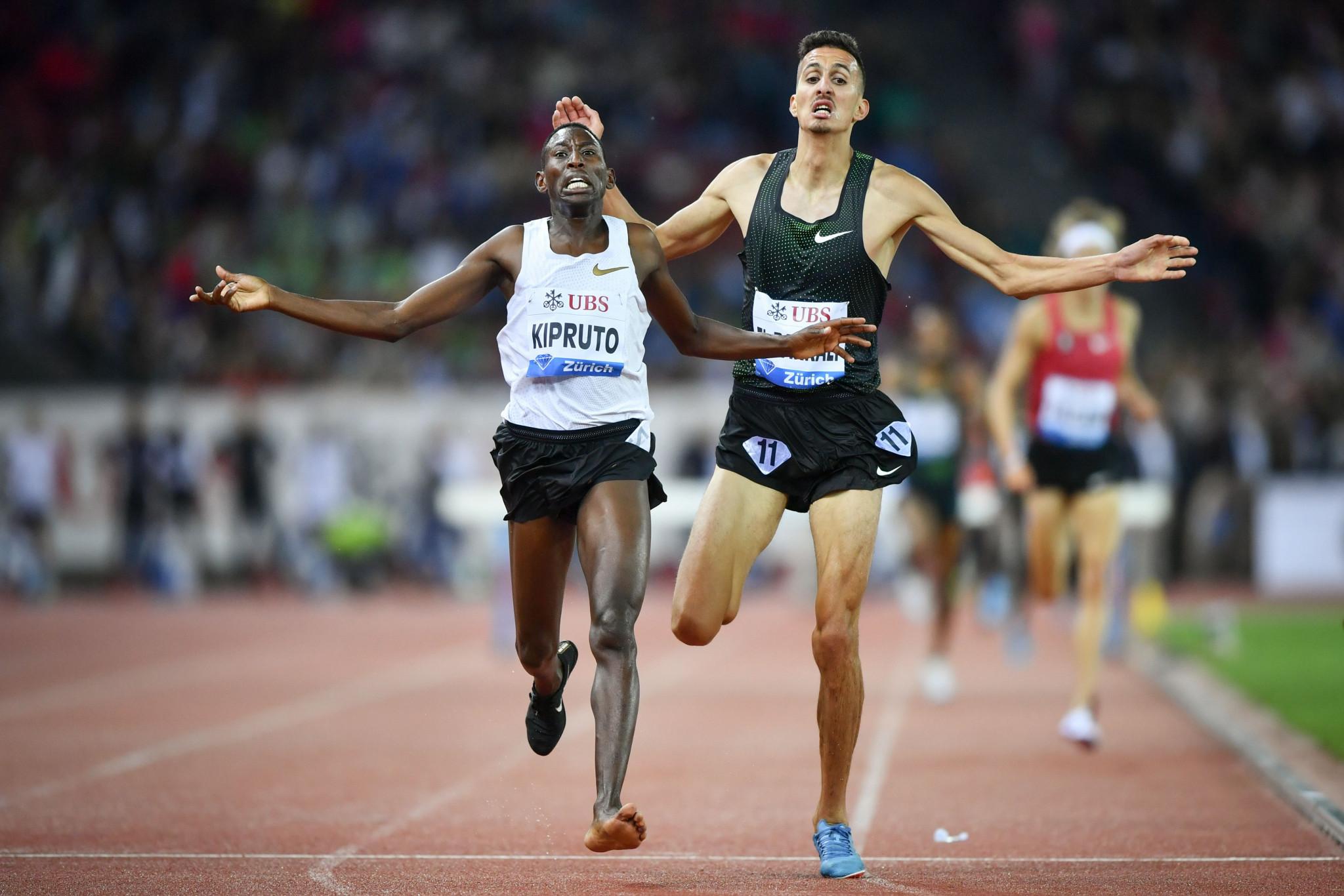 Kipruto retains 3,000m steeplechase Diamond League title in Zurich despite losing a shoe