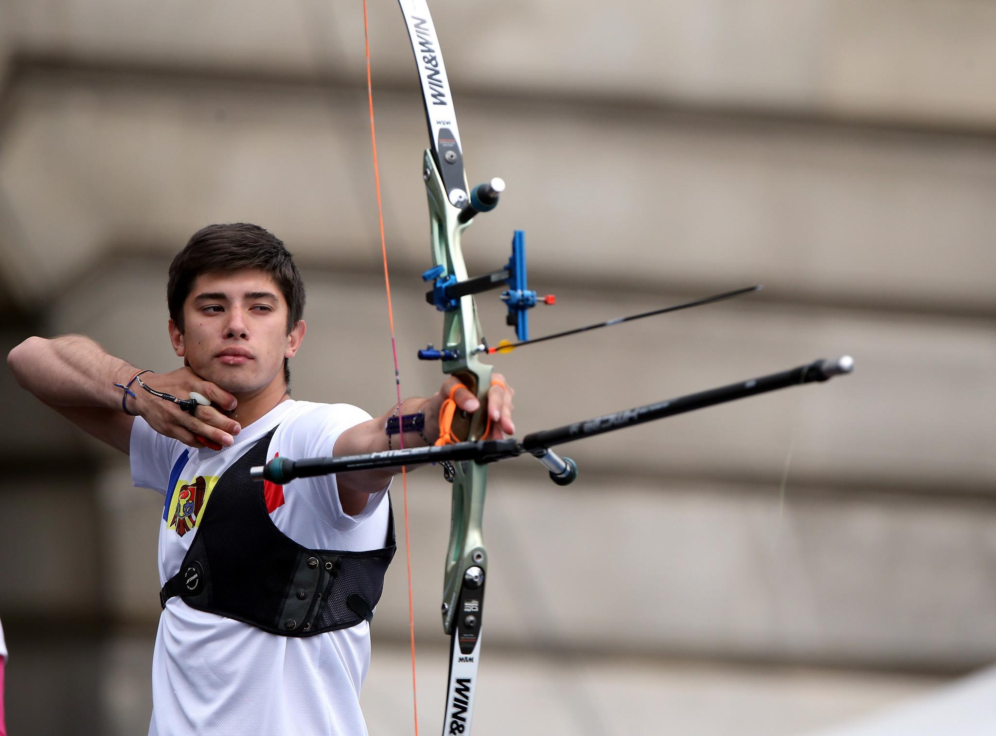 Olaru beats defending champion Valladont to reach men's recurve final at European Archery Championships