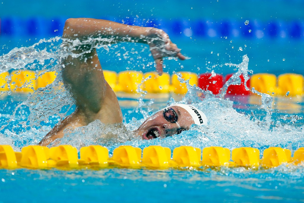 Hungary's Hosszu claims five gold medals in near-perfect display at FINA World Cup in Hong Kong