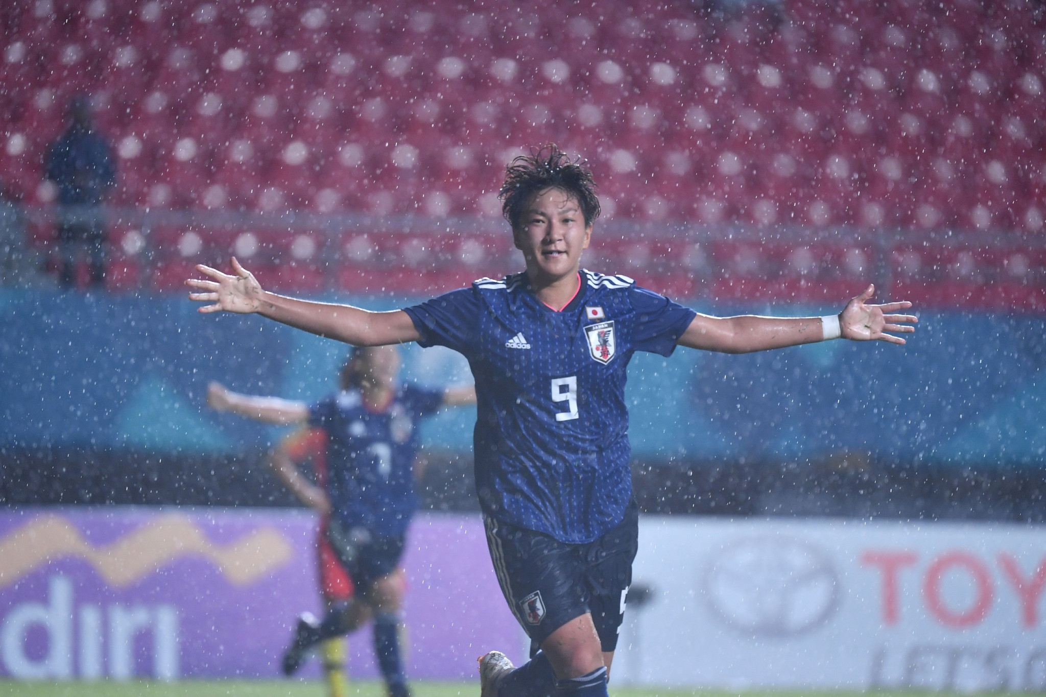 Substitute Yuika Sugasawa scored a last-minute winner as Japan beat China 1-0 to re-gain the Asian Games women's football title today ©Getty Images