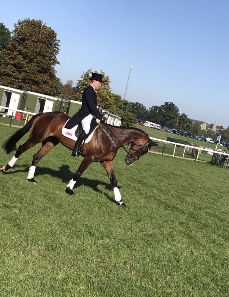 Todd leads after dressage at Burghley Horse Trials