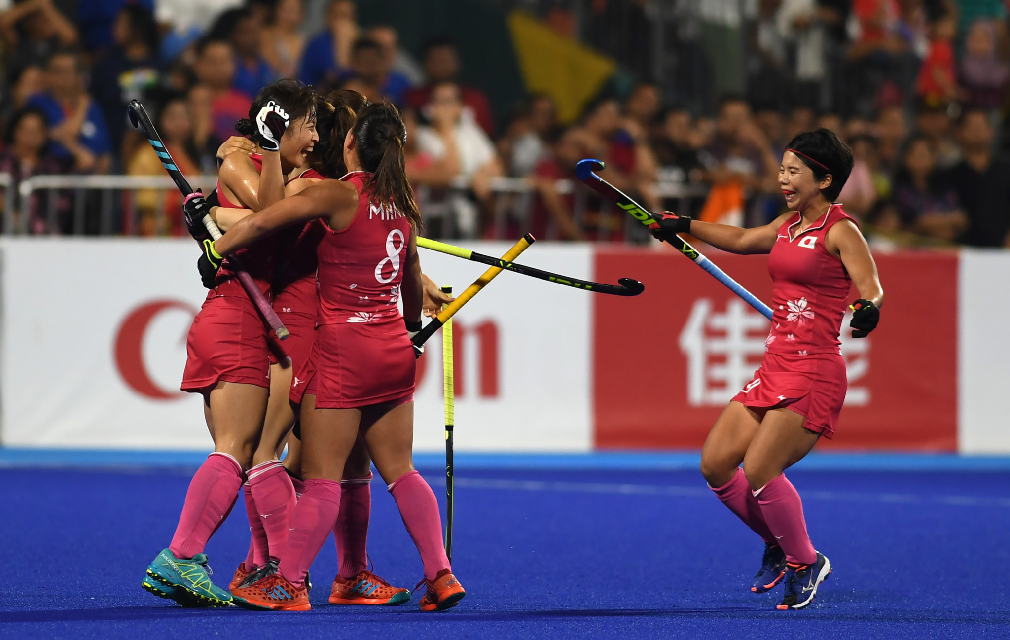 Japan seal first women's hockey gold with victory over India at Asian Games