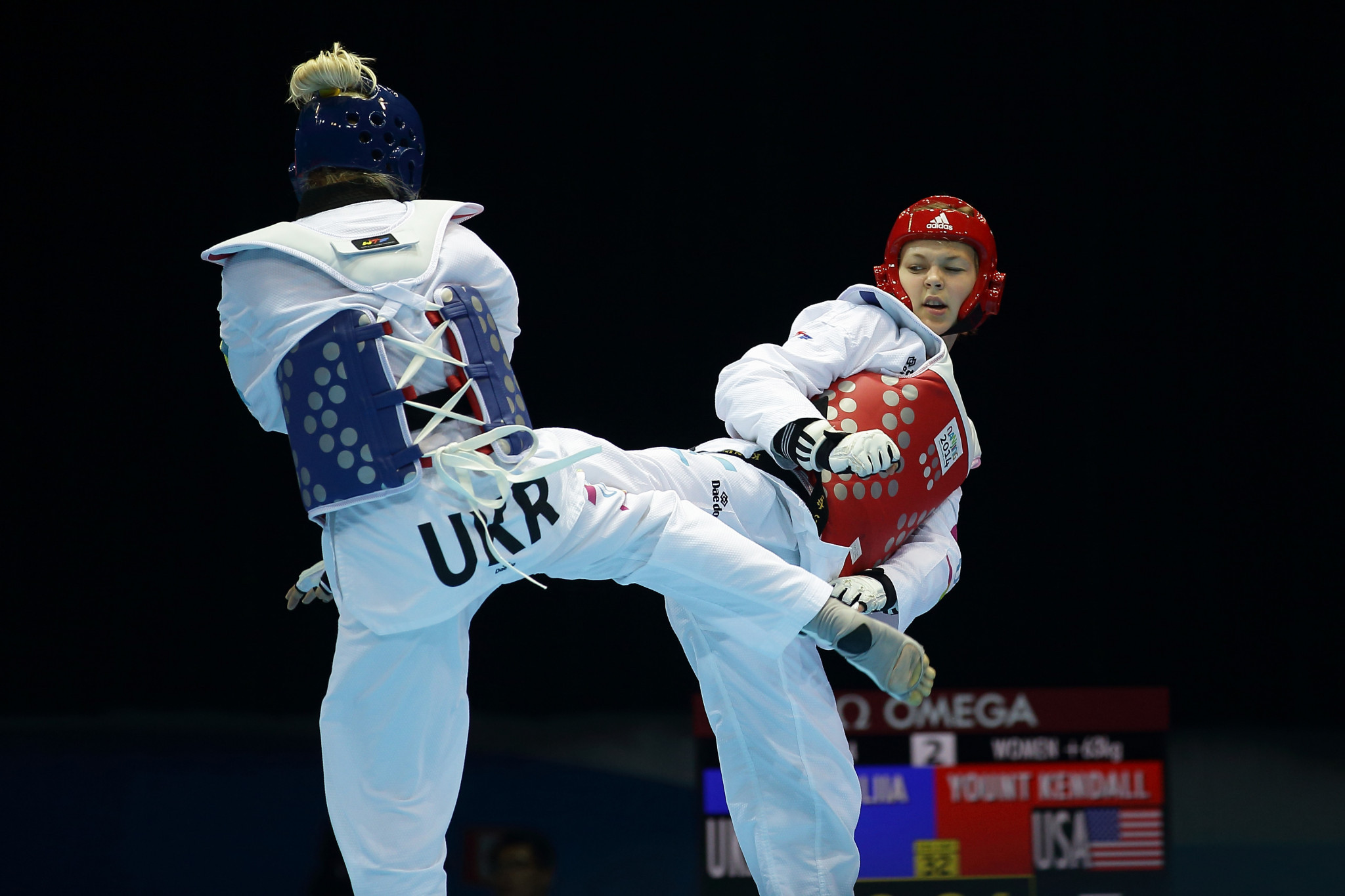 Ukraine is hoping to improve in taekwondo by learning from China ©Getty Images