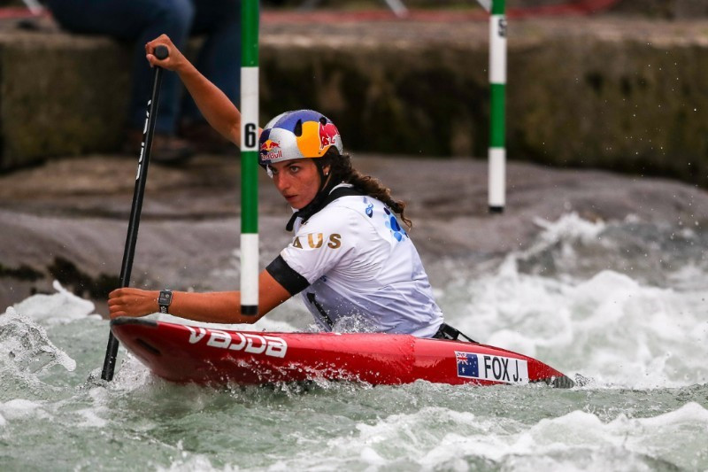 Fox makes strong start at ICF Canoe Slalom World Cup