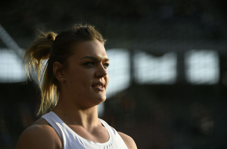 Croatia's world and Olympic discus champion Sandra Perkovic, seeking a seventh overall Diamond League title, had a night to forget in Brussels ©Getty Images