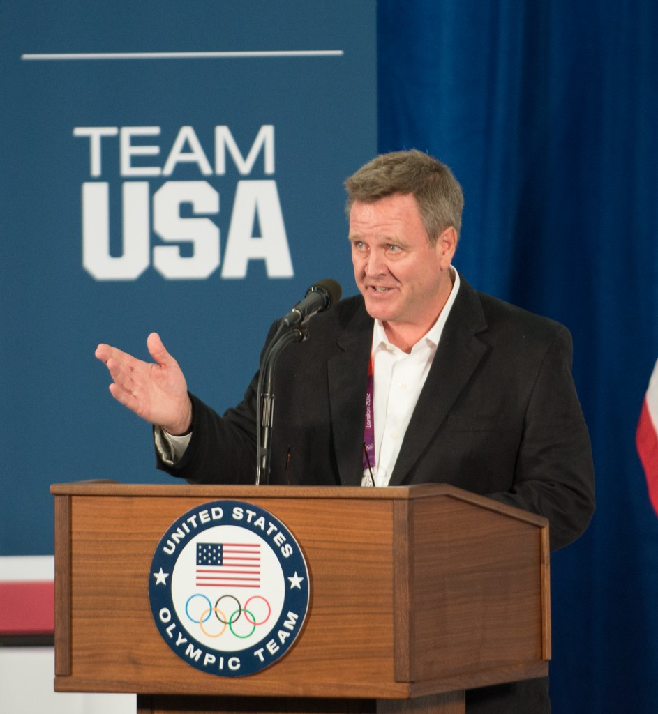 Scott Blackmun will serve at least six more years as USOC chief executive ©Getty Images