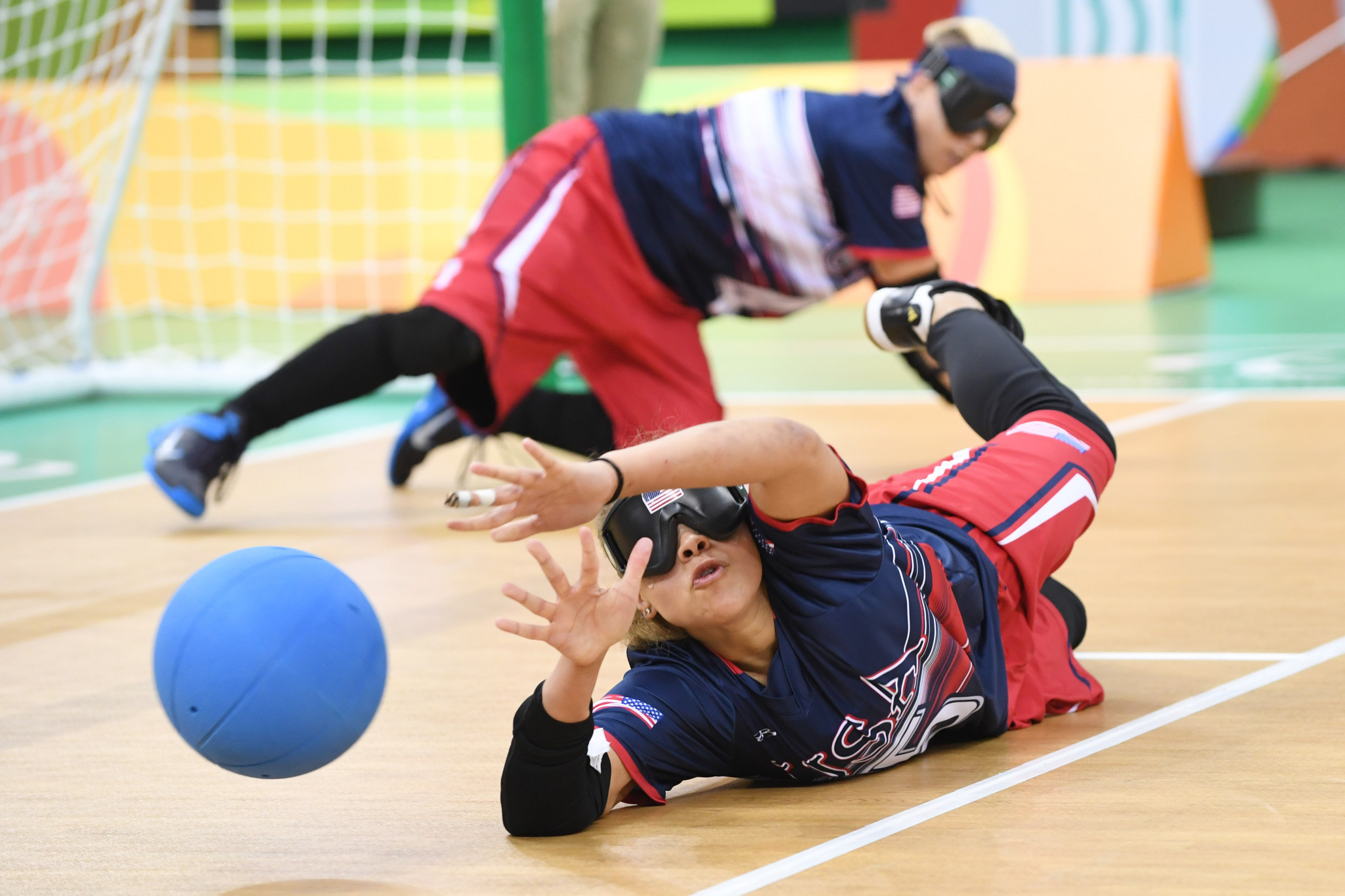 Ten men's teams and ten women's will compete in the Tokyo 2020 goalball tournaments ©Getty Images