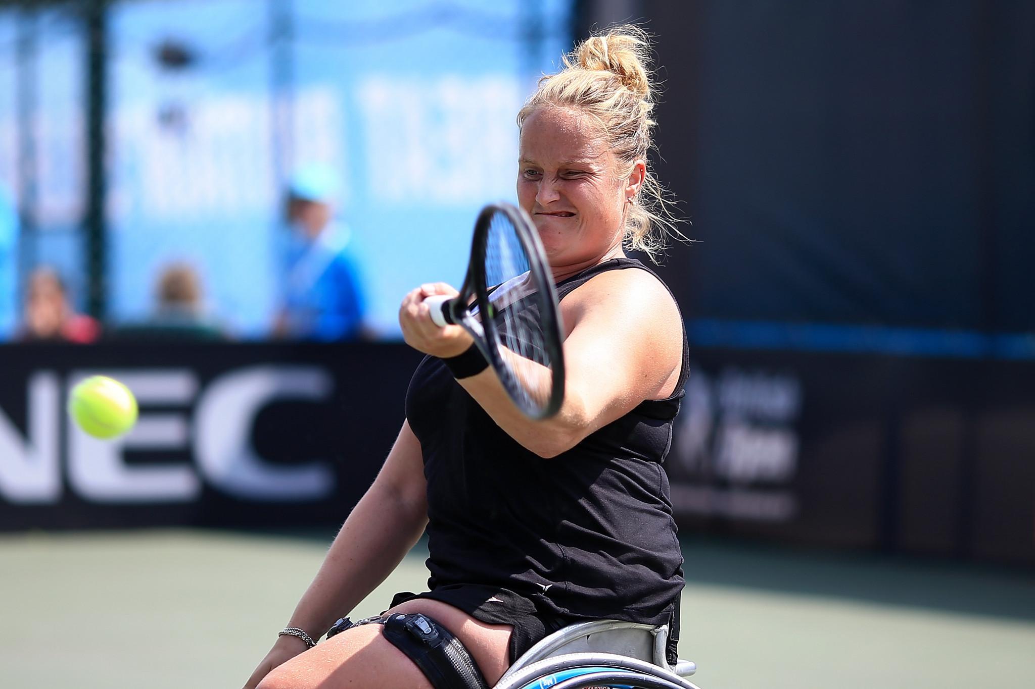 Aniek van Koot reached the women's singles final ©Getty Images