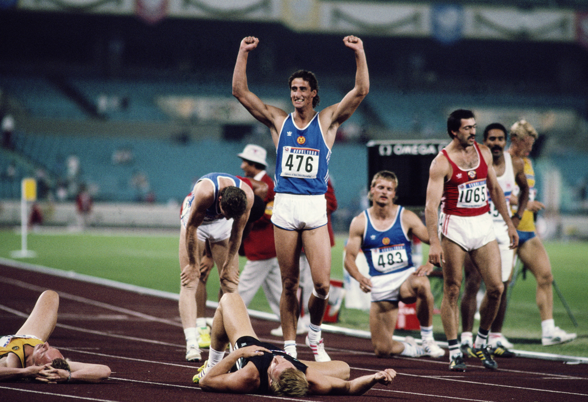Christian Schenk will retain his gold medal from Seoul 1988 ©Getty Images