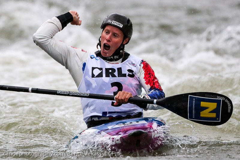 Kuhnle ends Fox's dominant run with K1 victory at Canoe Slalom World Cup