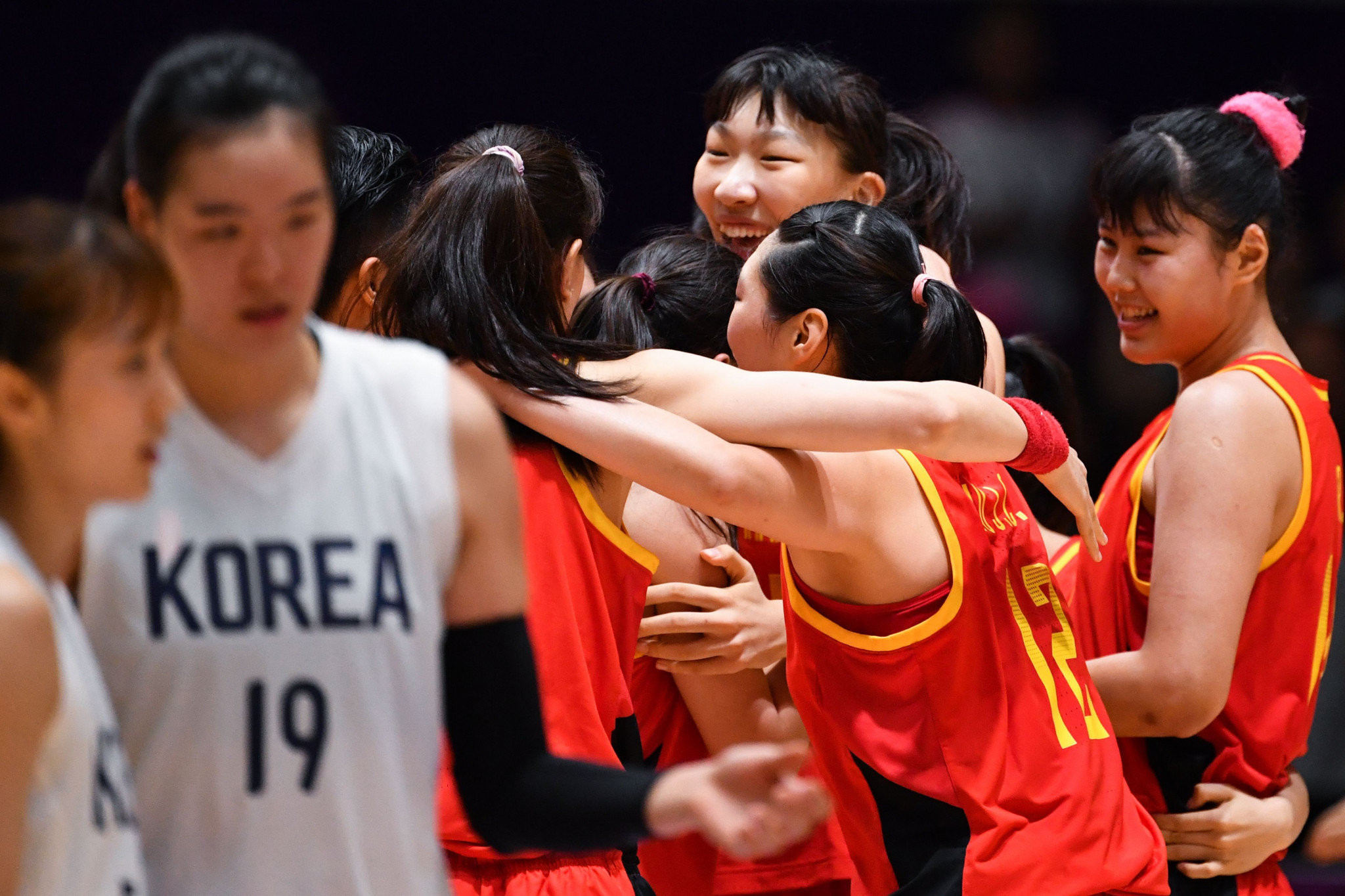 Unified Korean team miss out on women's gold medal as China claim basketball 5x5 double at 2018 Asian Games