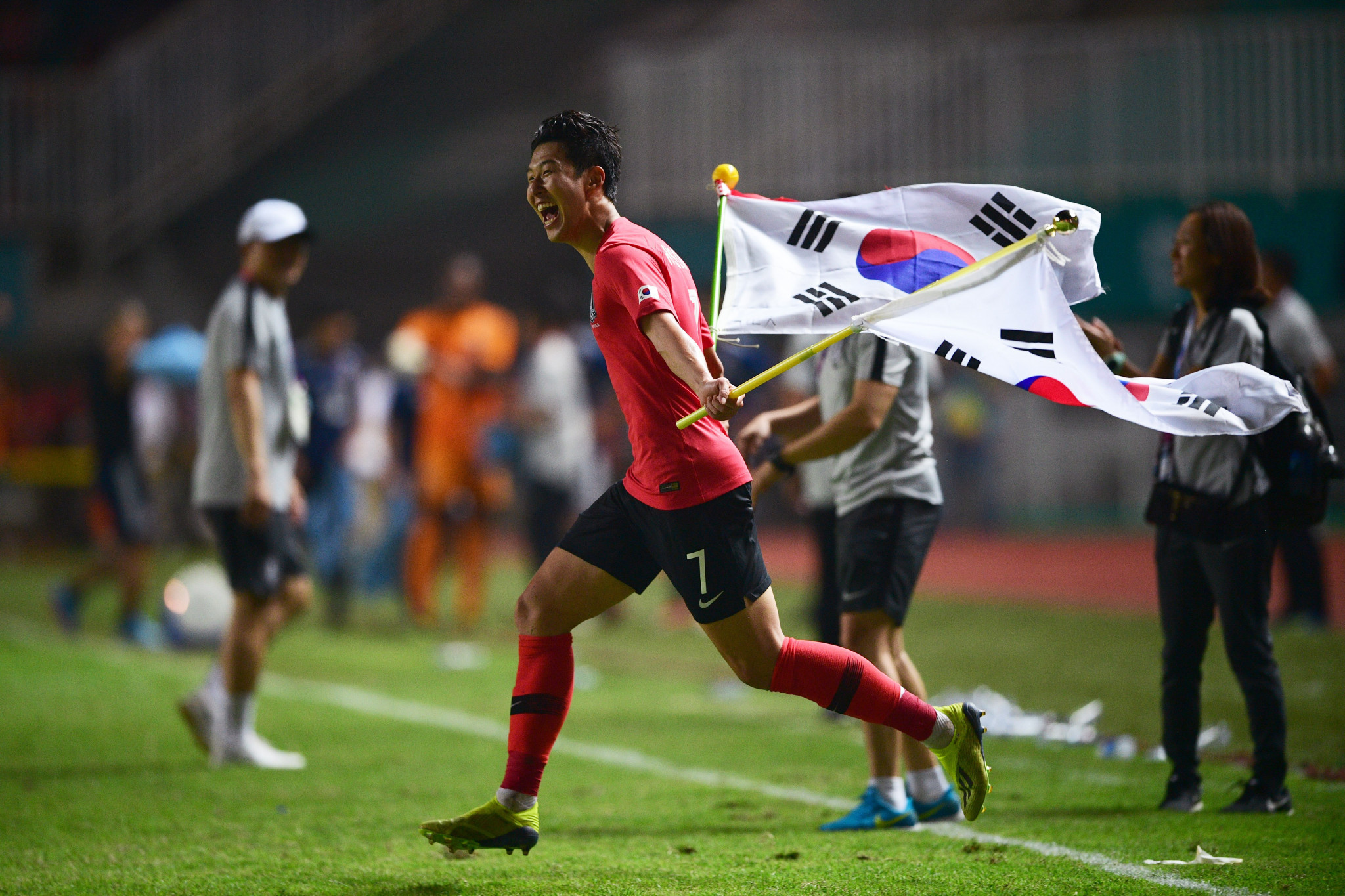 Premier League footballer Son Heung-min earns exemption from military service with Asian Games triumph