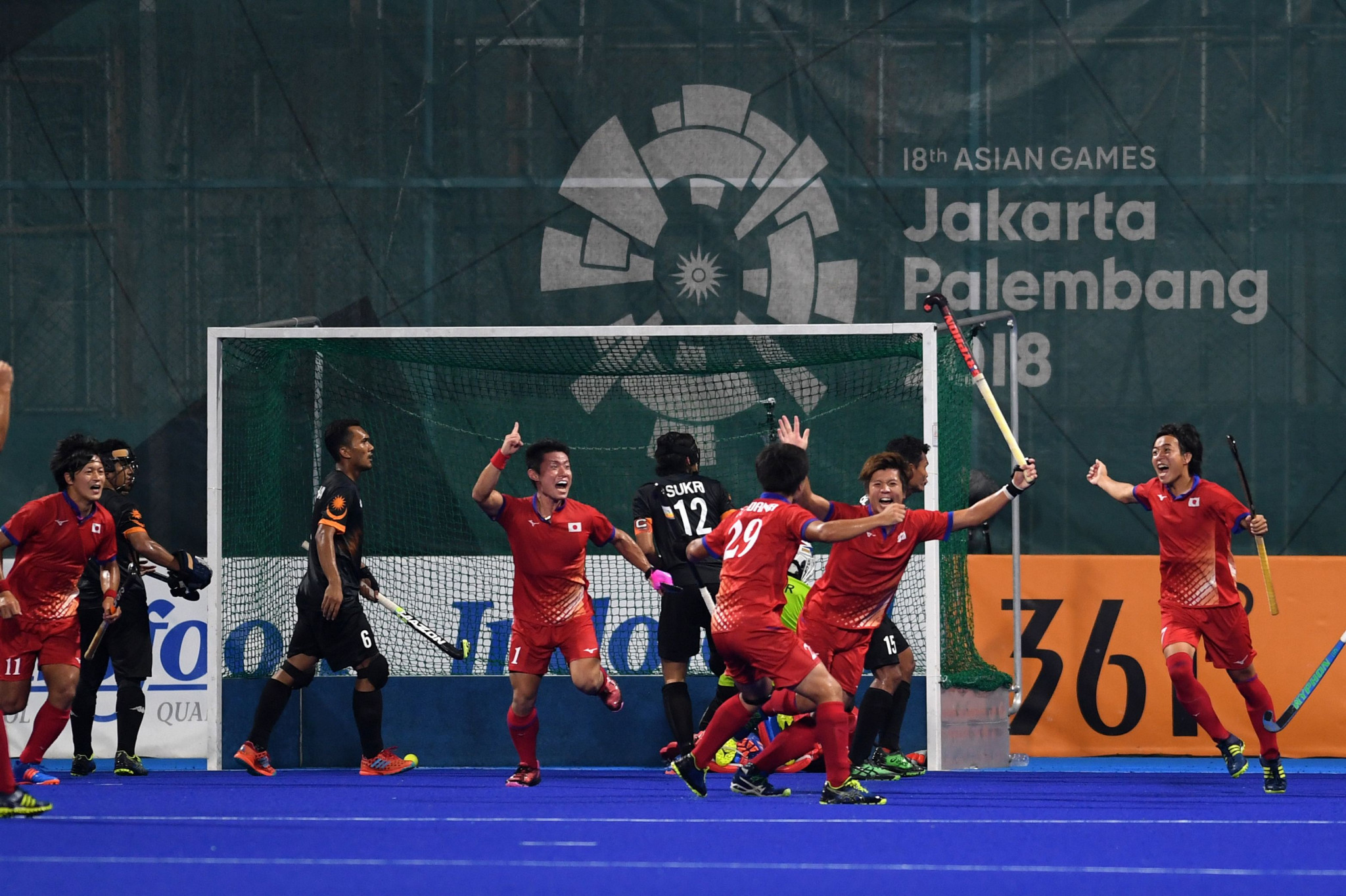 Japan triumphed in an incredible hockey final via a shoot-out, after the match against Malaysia ended 6-6 ©Getty Images