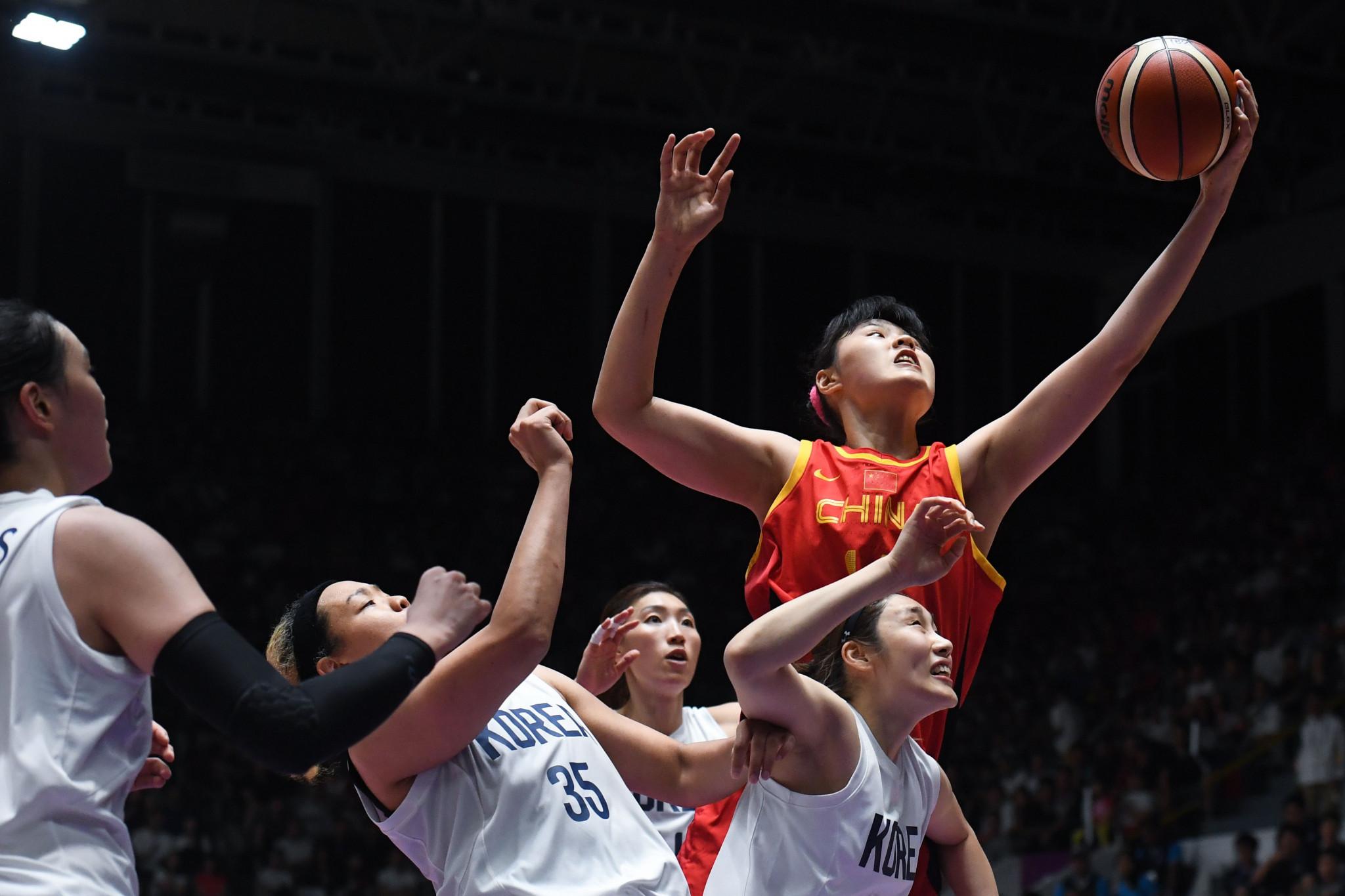 China proved too strong for unified Korea in the end ©Getty Images