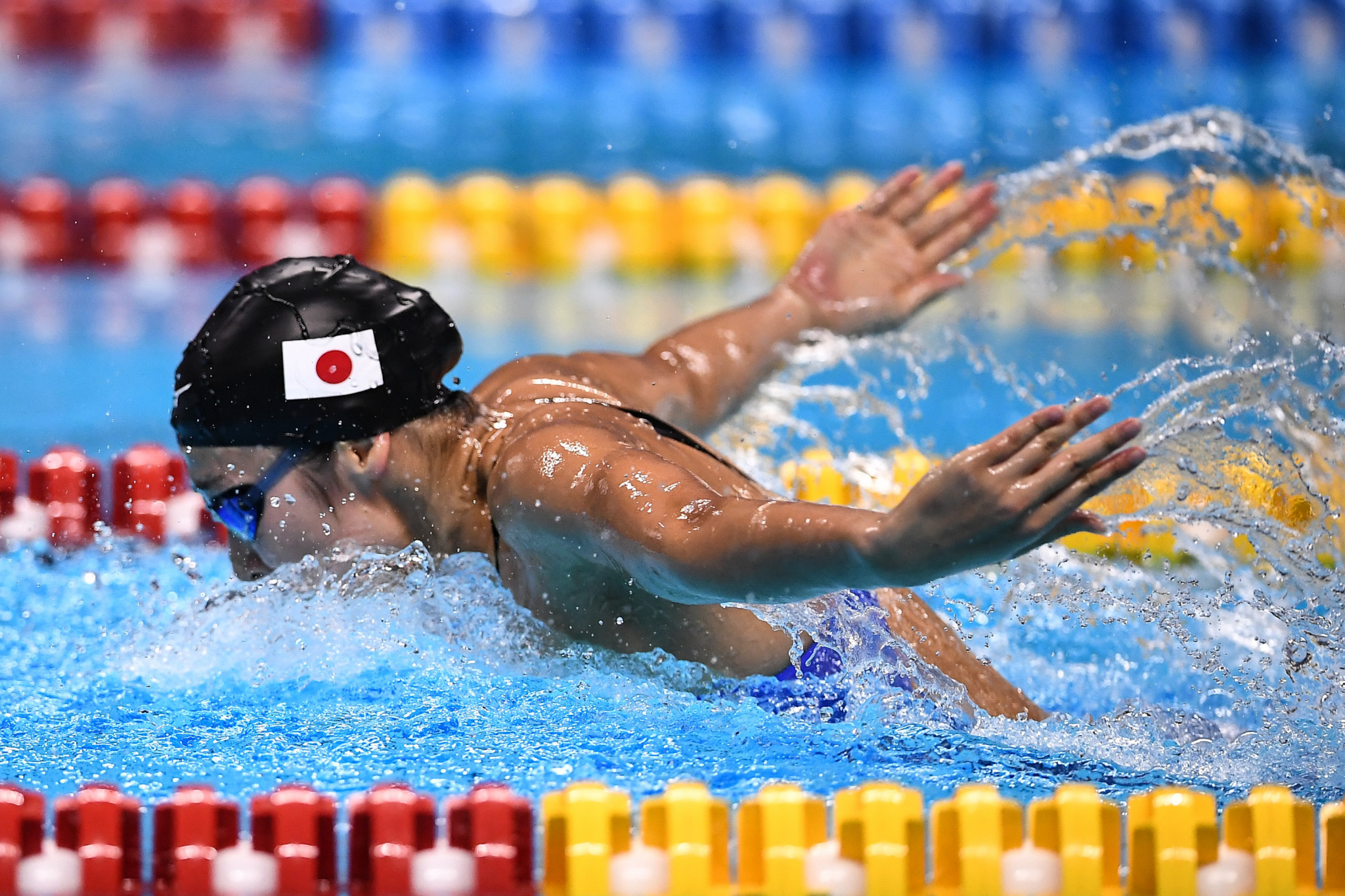 Rikako Ikee set Asian Games records in all six of her gold medal wins ©Getty Images