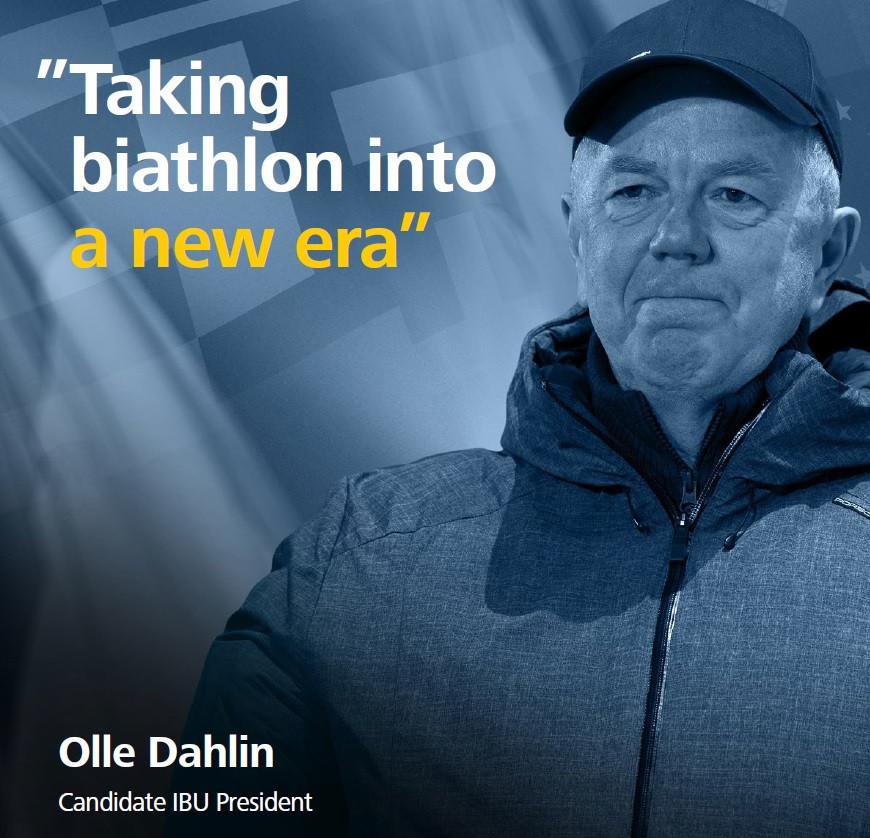 Olle Dahlin of Sweden is also running for the Presidency ©Olle Dahlin