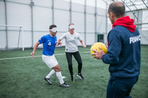 IBSA hold workshop to introduce blind football to Baltic region