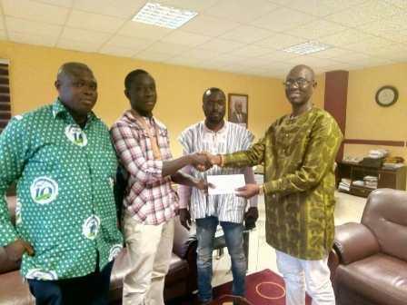 Ghana's only Gold Coast 2018 medallist given financial reward