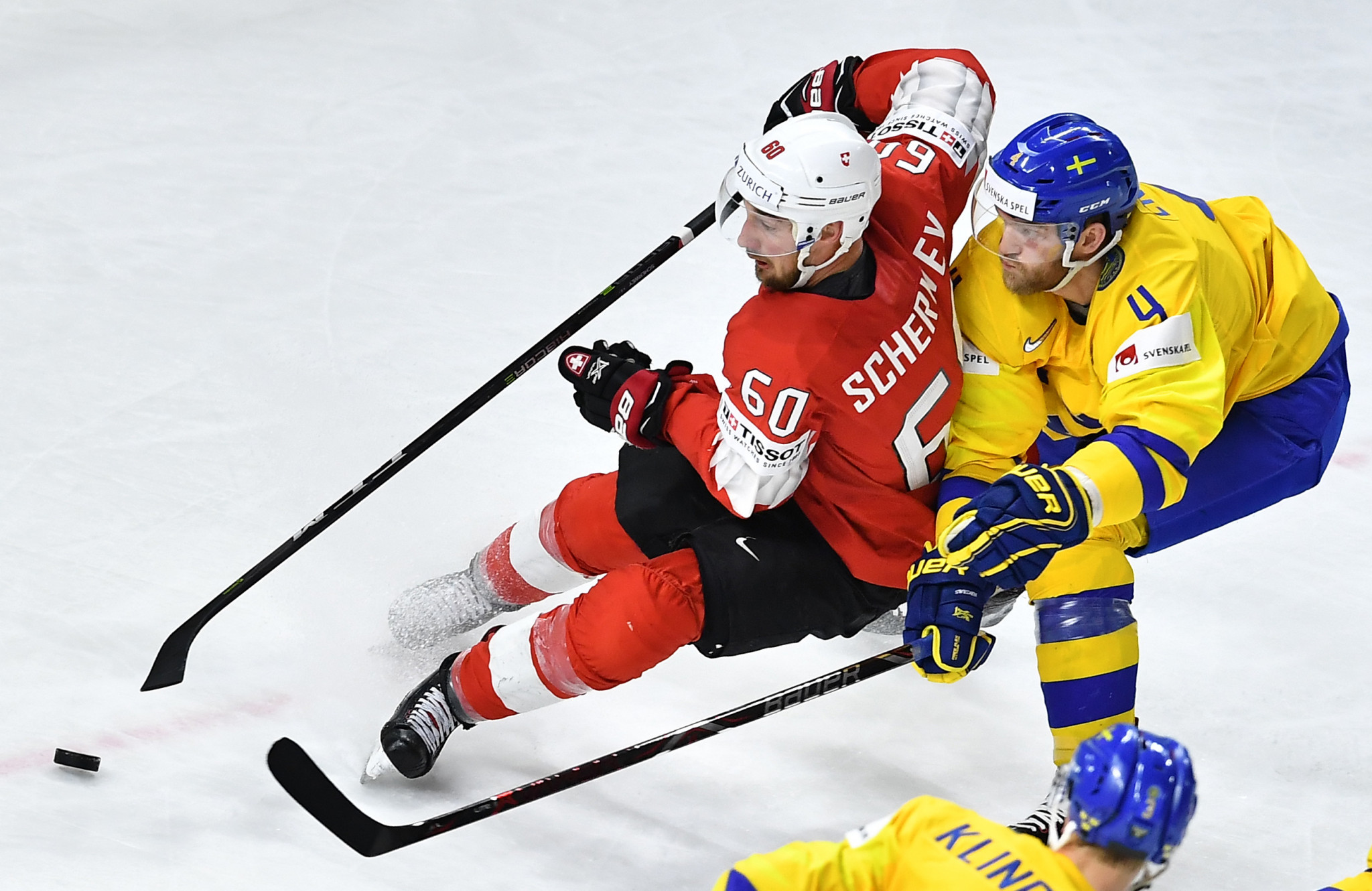 Sweden won the IIHF World Championship by defeating Denmark in the final ©Getty Images